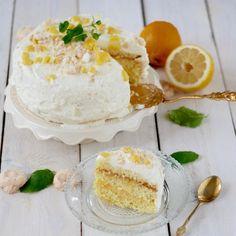 Cytrynowy tort biszkoptowy według przepisu z 1895 roku Camembert Cheese, Food And Drink, Tarts, Bakken, Essen, Mince Pies, Pies, Tart, Cakes