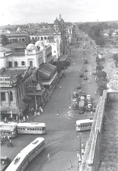 Calcutta Chowringee looking south