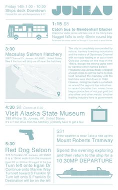 what to do in a day in Juneau, Alaska Cruise. Can't wait for June!