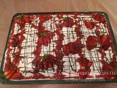 Ζουζουνομαγειρέματα: Γλυκό ψυγείου με φράουλες. Blog, Blogging