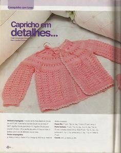 Este é um blog de tricô,crochê para bebês e vídeo aulas ensinando á tricotar.