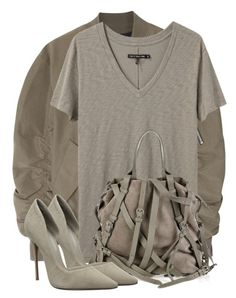 """""""Untitled #3499"""" by xirix ❤ liked on Polyvore featuring Fear of God, rag & bone/JEAN and Schutz"""