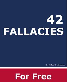 42 Fallacies: Michael LaBossiere full text free (60pg pdf) http://aphilosopher.files.wordpress.com/2010/09/42-fallacies.pdf