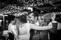 Eva y Fran: una boda llena de flores y velas
