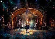 Ride the Cyclone. Chicago Shakespeare Theater. Scenic design by Scott Davis.
