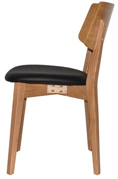 The Pheonix chair and stool are modern in design and packed with comfort. Made from American Oak solidwood and veneer, this product features clear staining that protects and accentuates the natural grain of the American Oak. Commercial Furniture, Stool, Chair, Phoenix, Solid Wood, Indoor, Range, American, Natural