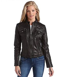 Four Pocket Moto Leather Jacket.  Found this beauty (absent the sleeve zips) at Nordstrom Rack.  I am in lurve.  Yay for birthday $$$!