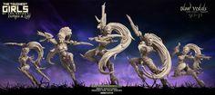 TGG2: Update #46 - Blood Vestals (Void Elves - SF)   Raging Heroes