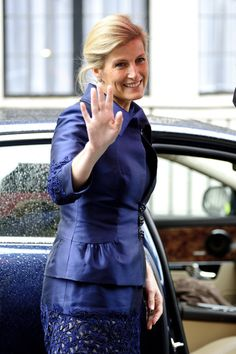 Sophie Countess of Wessex visits King Edward VII hospital in Beaumont Street where Prince Philip, Duke of Edinburgh remains in due to an infection on June 5, 2012 in London, England. The Duke of Edinburgh has been under observation for a few days, subsequently missing the rest of the Diamond Jubilee celebrations. (June 4, 2012 - Source: Ben Pruchnie/Getty Images Europe)
