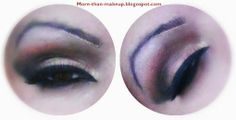 brown and black smokey eyes http://more-than-makeup.blogspot.it/2013/12/brown-and-black-smokey-eyes-tutorial.html#more