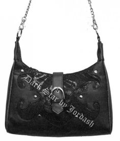 Dark Star Black Gothic Cobweb Net/PVC Purse [DS/BG/5538B] - $49.99 : Mystic Crypt, the most unique, hard to find items at ghoulishly great prices!