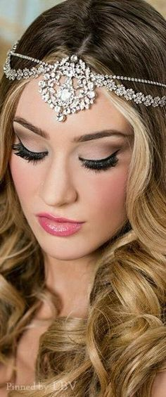 Bridal Style ♥✤ Makeup and accessories