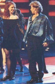 Michael Flatley und Jean Butler, Riverdance beim Eurovision Song Contest, Dublin, 1994