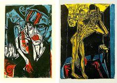 Mucha informacion del Expresionismo Aleman e imagenes varias
