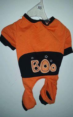 "XS Dog Puppy Halloween Costume ""Boo"" NWT : jantom37"