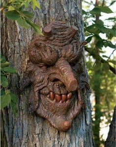 Poison Oak: Greenman Tree Sculpture by Design Toscano, http://www.amazon.com/dp/B003M0I2KK/ref=cm_sw_r_pi_dp_XVLCqb01Y7M6C