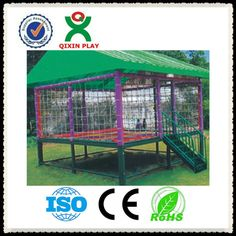 2013 newest design trampoline tent/trampoline for adults/in ground trampolines QX-B3405 $1~$1000 Trampoline Bed, Rectangle Trampoline, Outdoor Trampoline, In Ground Trampoline, Outdoor Fun, Outdoor Spaces, Outdoor Ideas, Tent, Yard