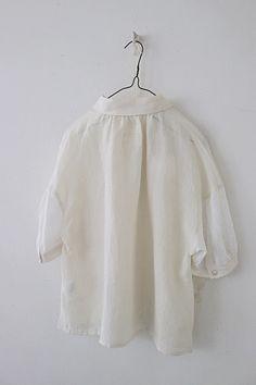 라르니에 정원 LARNIE Vintage&Zakka Shirt Jacket, Pattern Making, Bell Sleeve Top, Womens Fashion, Jackets, Shirts, Clothes, Dresses, Jewels
