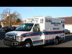Remounted Ambulance Delivery by VCI to Greater Pittston RV260
