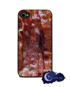 Sizzling Bacon iPhone Cover  Free US Shipping by InsomniacArts, $15.99