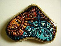 just a tad bit more intricate then my stones (serious undersatement) Dekorácie - Spolu putujúc oblohou - 1179273