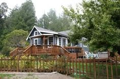 Originally built in the early 1900's this homestead was established on the top of a mountain above the hamlet of Little River, just minutes from the historic village of Mendocino. Discover the original covered ...