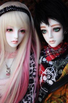 The twins Lenoire by chibi-lilie.deviantart.com on @deviantART