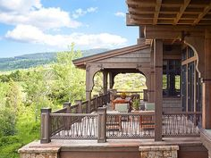 A deck or patio with a beautiful mountain view can be better than therapy! Description from pcwbuilds.com. I searched for this on bing.com/images