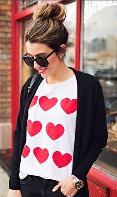 cute heart shirt