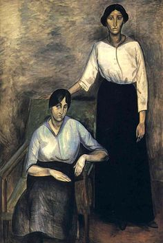 The Two Sisters - Andre Derain, 1913