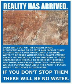 The reality of coal seam gas mining in the United States.