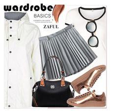 """Wardrobe Basics: Spring Jacket"" by paculi ❤ liked on Polyvore featuring R13, Topshop, adidas, wardrobebasics and zaful"
