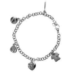 Women's New York Yankees 5-Charm Bracelet