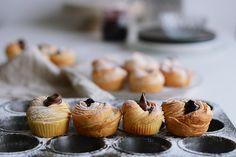 12 receptov na muffiny rôznych chutí - Fičí SME Croissants, Mini Cupcakes, Red Velvet, Breakfast, Desserts, Blog, Cup Cakes, Basket, Tailgate Desserts