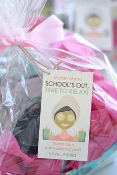 Spa Gift Basket Teacher Gift