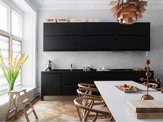 Dream kitchen ❤️ by @eklundstockholmnewyork