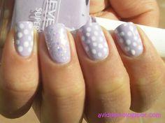 ...♥♥ #nails #style #wedding www.BlueRainbowDesign.com