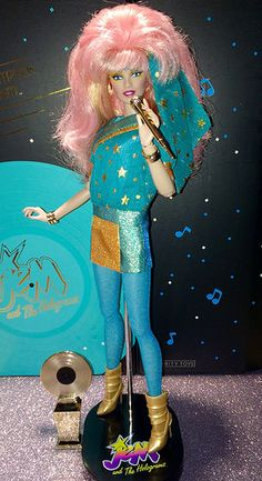 Best 80s Cartoons, Dolls From The 80s, Jem Et Les Hologrammes, Jem Doll, 1980's Movies, Jem And The Holograms, 80s Aesthetic, Electric Shock, She Ra Princess Of Power