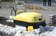 Japán hókotrórobot: Nem csak hasznos, hanem aranyos is * Snowpowler robot from Japan: Cute and useful