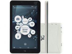 "Tablet DL X-Quad Pro 8GB 7"" Wi-Fi Android 5.1 - Proc. Intel Quad Core Câmera Integrada"