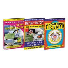 Bennett DVD - Mariners' Guide to VHF, Radar & Coast Guard License - https://www.boatpartsforless.com/shop/bennett-dvd-mariners-guide-to-vhf-radar-coast-guard-license/
