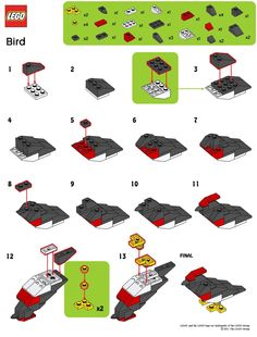 March 2011 Monthly Mini Build Bird