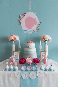 Silhouette Royal Princess Birthday Party via Kara's Party Ideas | KarasPartyIdeas.com #silhouetteprincessparty (33)