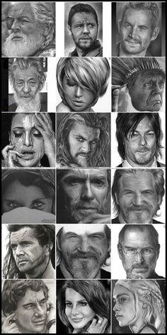 Fabio Rangel - pencil drawing