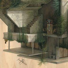 Lu0027univers En 3D Surréaliste De Lu0027artiste Cinta Vidal | Pinterest | 3d And  Illustrations