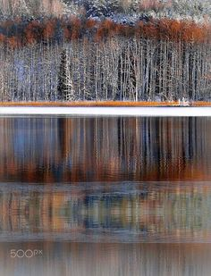 Winter reflections by RE~gi~NA