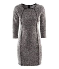 H Fitted Dress - the perfect dress for those with a semi-curvy figure!
