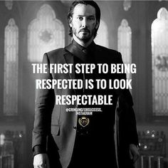 Well said John Wick!