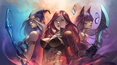 ArtStation - League of Legends /3, Since _