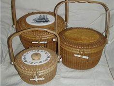 Nantucket Lightship Baskets by Gerald Brown